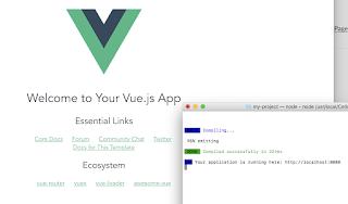 MacでYarn+Vue.js+Webpack